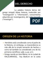 Historia Del Derecho Unidad i