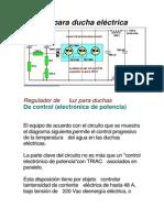 Regulador de potencia para ducha eléctrica