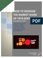 market research for tata docomo