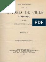 Un Decenio de La Historia de Chile (1841-1851) T.ii. 1906