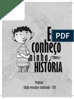 Livro Eu Conheço a Minha História (professor)