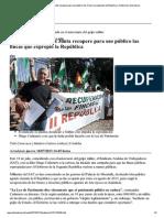 EL MUNDO - 18.07.2013- El SAT quiere que la Junta recupere para uso público las fincas que expropió la República