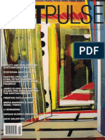 """Hoelscher, Jason. """"Pattern and Deregulation - Beauty and Non-Order in Contemporary Painting"""""""