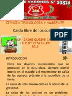 CAIDA LIBRE Descargar Archivo en PPT
