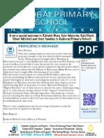 March 28 Newsletter
