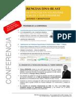 Información Conferencia Voladura-DNA-Blast- 29 Noviembre 2013
