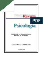 Revista Psicología 2002