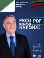 Programme Benflis 2014