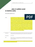 Calderon Fernando-Diez Tesis Sobre El Conflicto Social