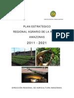 Plan Estrategico Regional Agrario de Amazonas 2011-2021