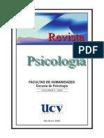 Revista Psicología 2003