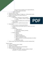 Resumo I - Histologia