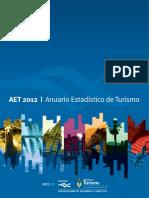 Anuario Estadístico de Turismo 2012