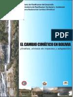 El Cambio Climático en Bolivia