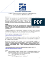 Pad LEEA-048 Guidance on the Design Testing and Inspection of Fabricated Pad Eyes