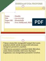 Tugas Biostatistik Emalia