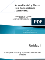 Ppt Legislacion Ambiental y Saneamiento 1