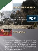 Hipotension Permisiva Pita
