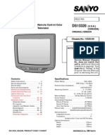 Sanyo Ds13320 Service Manual