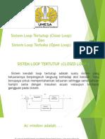 Ppt Sistem Loop Terbuka Dan Tertutup