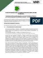 1 Er. Levant. Observ. Plan de Trabajo - Minicomplejo Deportivo Kukipata