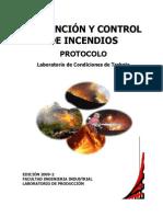 Prevencion y Control de Incendios 2009-2