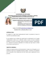 PLAN TUTORIAL ADMINISTRACIÓN HOSPITALARIA-2012