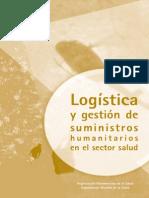 Logistica y Gestion de Suministros Humanitarios en El Sector Salud