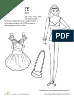 Paper Doll Girl 1980s