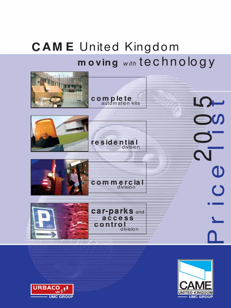 Came Brochure | Payments | Sales