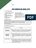 Programacion Anual 2013 -Gonzales 1Y5 - Copia