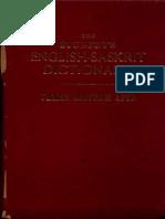 The Student's English Sanskrit Dictionary - Vaman Shivram Apte