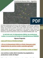 RED VIAL RURAL Y ORDENAMIENTO HÍDRICO - Ordenanza Municipal 2649/2002 - PARTIDO DE ROJAS - PROVINCIA DE BUENOS AIRES - ARGENTINA