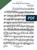 Barber Cello Concerto