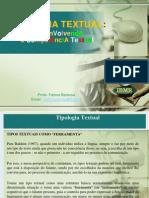 Tipologia Textual 20131