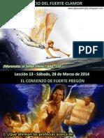Lección 13 - El Inicio del Fuerte Clamor.pdf