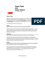 Game Types and Genres-lindsay Grace