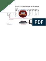 56 – DiSEqC 1.0 – 1.1 – 1.2 para carregar até 04 DiSEqC 4x1 1.0 em cascata