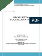Propuesta Socioeducativa Ok