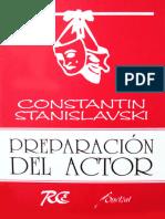 Stanislavski Konstantin - Preparacion Del Actor