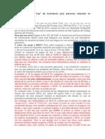 """Apuntes sobre la """"Ley"""" de insolvencia para personas naturales no comerciantes (INOC)"""