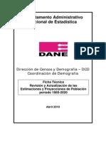 Ficha Estimaciones Proyecciones 85 2020