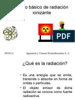 Curso básico de radiación ionizante