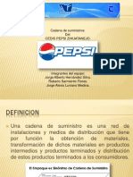 Cadena de Suministro Pepsi