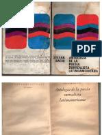 Stefan Baciu Antología de la Poesía Surrealista Latinoamericana