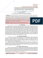 Denoising and Edge Detection Using Sobelmethod