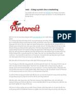 Mạng xã hội Pinterest