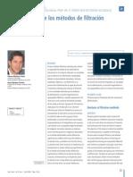 Analisis de Metodos de Filtracion