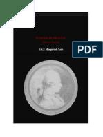 Sade, D.a.F Marques de - Eugenia de Franval