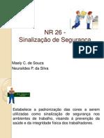 Apresentação NR 26 - Sinalização de Segurança